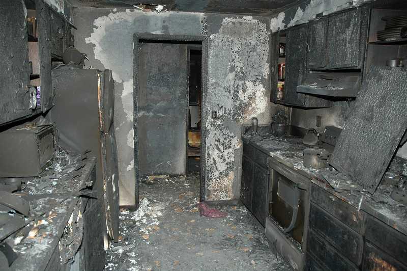 damage claim fire